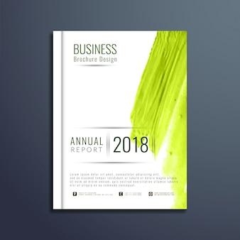 Abstract elegante zakelijke brochure sjabloon