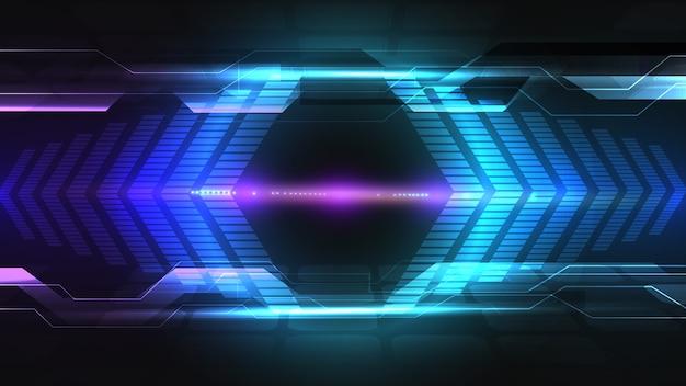 Abstract elektrisch bord, circuit. abstracte wetenschap, futuristisch, web, netwerk concept achtergrond