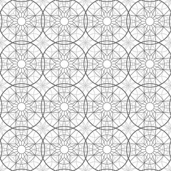 Abstract esoterisch geometrisch pentagrammen naadloos patroon