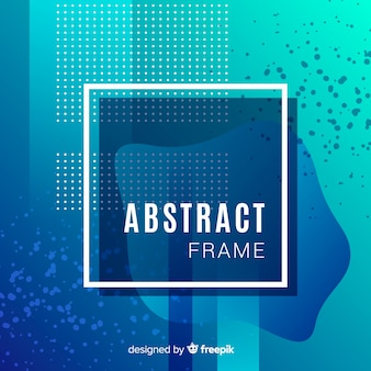 Abstract frame achtergrond