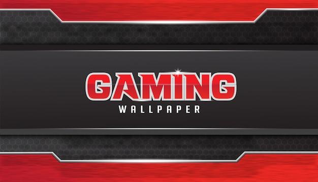 Abstract gaming wallpaper design met grunge effect