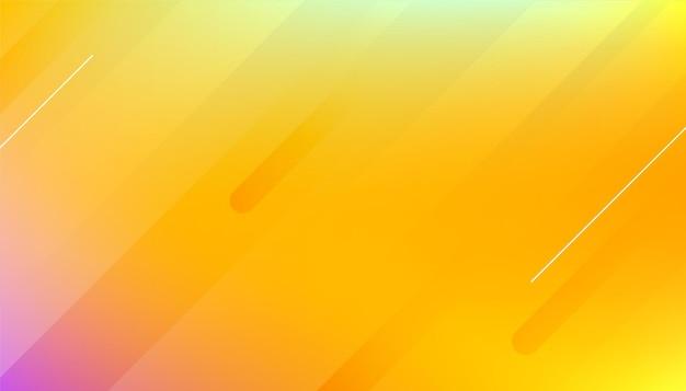 Abstract geel glad achtergrondontwerp