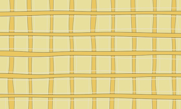 Abstract geel, wit en zwart lijnenpatroon in naadloze stijl. ontwerp voor uw kleding.
