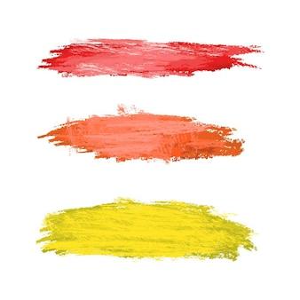 Abstract geïsoleerde kleurrijke vector aquarel vlek. element voor ontwerp voor een papieren, advertentie. heldere kleuren geïsoleerd op een witte achtergrond. tekeningen met copyspace, spatten van penselen.