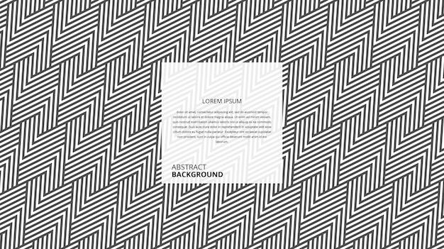 Abstract geometrisch de lijnenpatroon van de zigzagdriehoekvorm