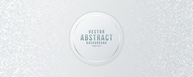 Abstract geometrisch en futuristisch ontwerp van achtergrondvector