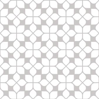 Abstract geometrisch grafisch bloemen naadloos patroon