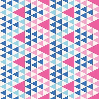 Abstract geometrisch modern driehoeken naadloos patroon.