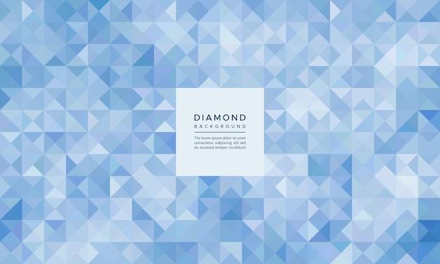 Abstract geometrisch mozaïek van kristal en ruitpatroon en achtergrond glitter en mat oppervlak