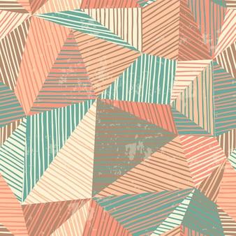 Abstract geometrisch naadloos patroon.
