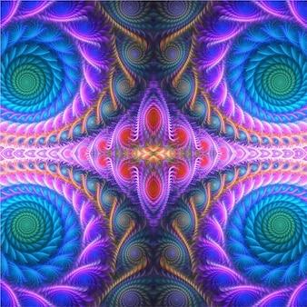 Abstract geometrisch ontwerp van naadloze achtergrond