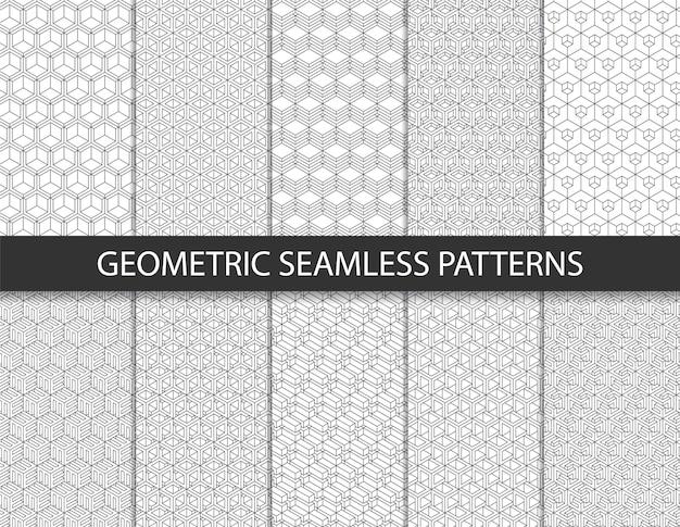 Abstract geometrisch patroon. naadloze achtergrond.