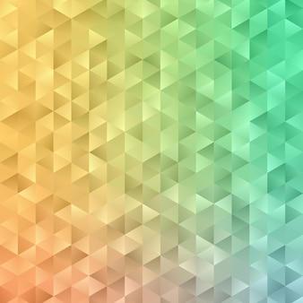 Abstract geometrisch patroon op de achtergrond van de veelhoekvorm