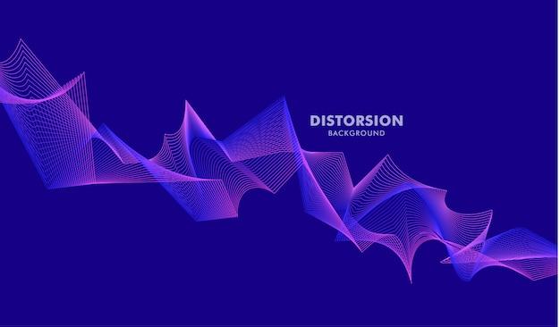 Abstract geometrisch patroonelement ontwerp