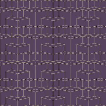 Abstract geometrisch raster naadloos patroon