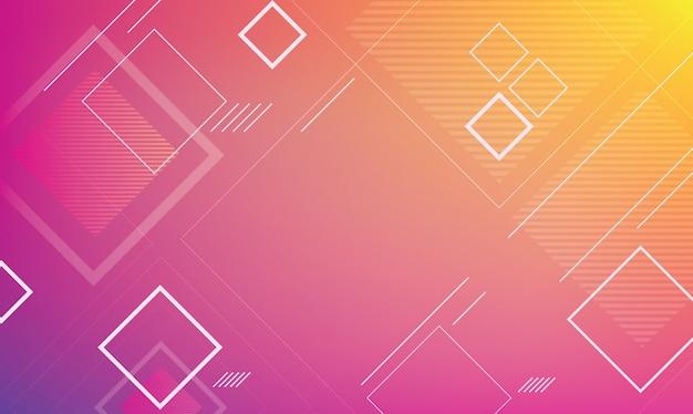 Abstract geometrisch voor achtergrondmalplaatje Premium Vector