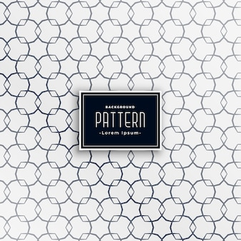 Abstract geometrisch vorm zwart-wit patroon