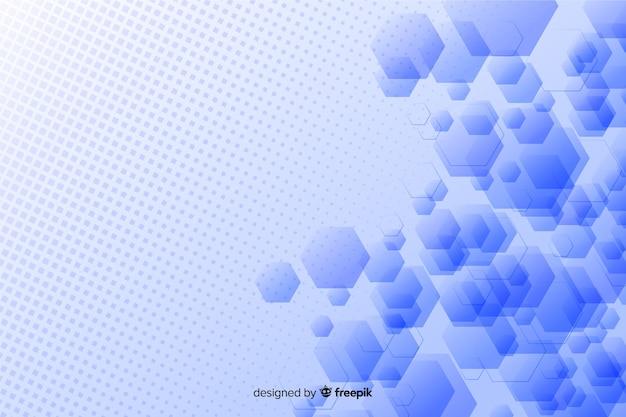 Abstract geometrisch vormenontwerp