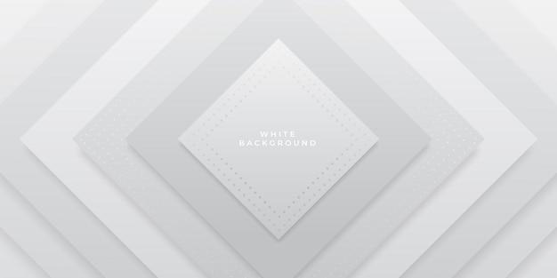 Abstract geometrisch wit ontwerp als achtergrond