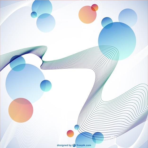 Abstract geometrische gratis sjabloon