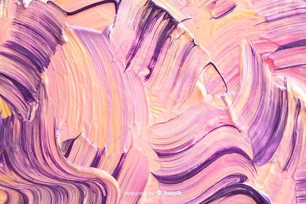 Abstract geschilderde penseelstreken achtergrond