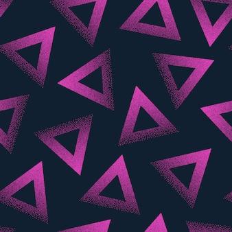 Abstract gestippeld naadloos patroon