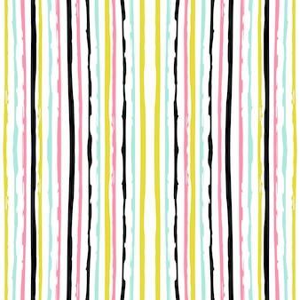 Abstract gestreept naadloos patroon