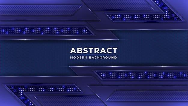 Abstract glanzend blauw ontwerp als achtergrond met glanzend lichteffect