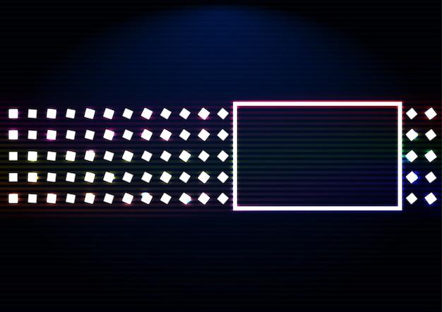 Abstract glanzend frame met rechthoeken