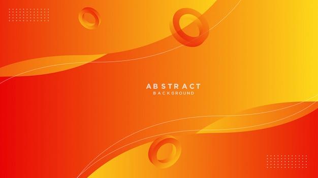 Abstract gradient geometrische achtergrond