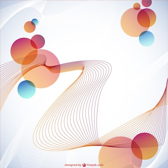 Abstract gratis ontwerp achtergrond