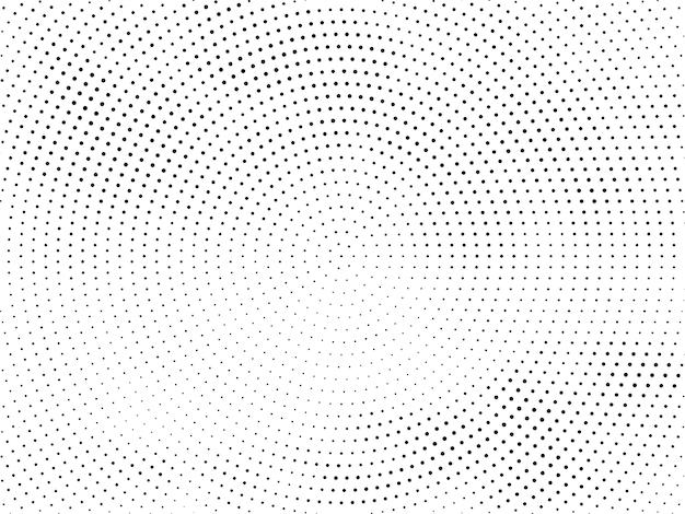 Abstract halftone decoratief ontwerp
