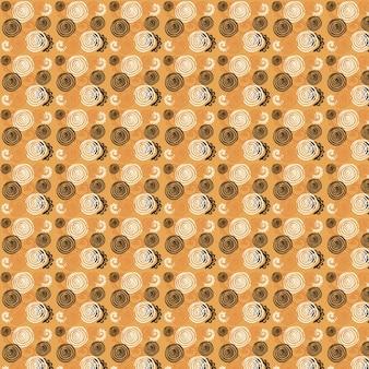 Abstract hand getekende patroon