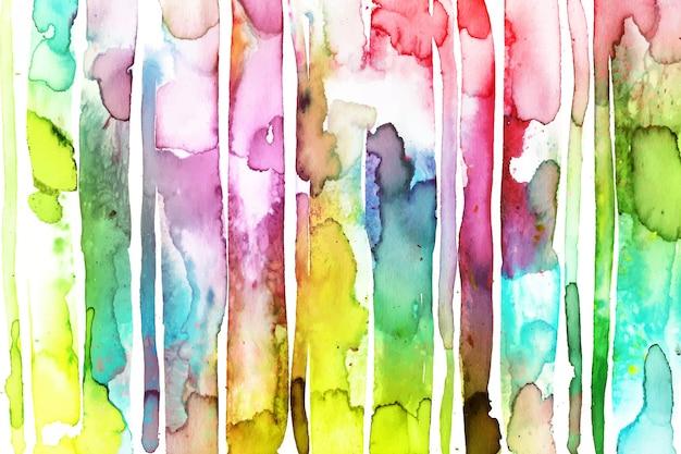 Abstract handgeschilderd behang