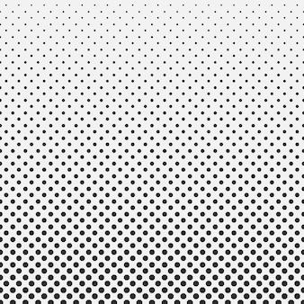Abstract hexagon halftone patroon