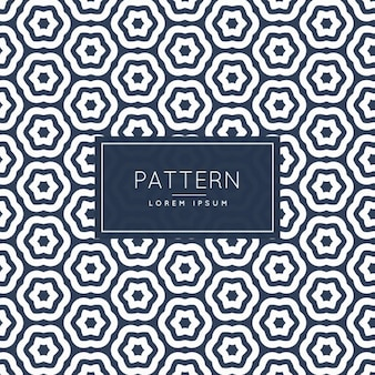 Abstract hexagonaal patroon