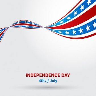 Abstract independence day vector achtergrond