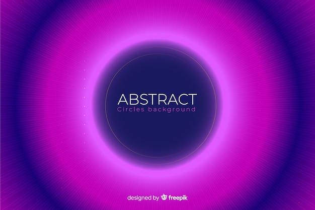 Abstract intreepupil kleurrijke cirkels achtergrond