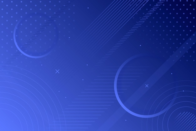 Abstract klassiek blauw behang