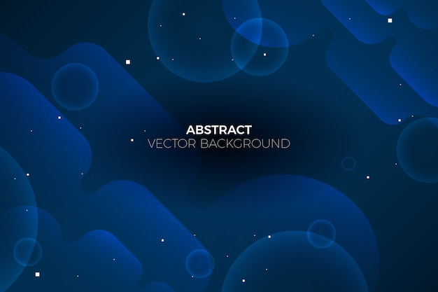 Abstract klassiek blauw behangconcept