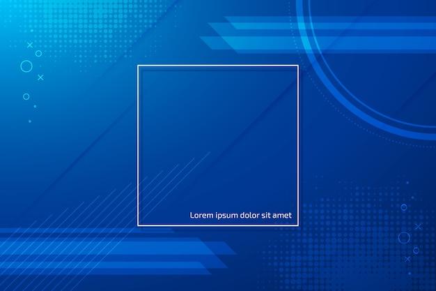 Abstract klassiek blauw thema als achtergrond