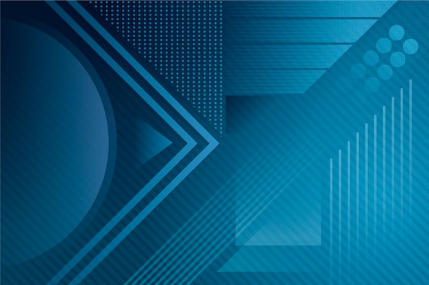 Abstract klassiek blauw thema voor behang