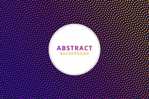 Abstract kleurrijk behang als achtergrond. moderne start halftoon. vector patroon