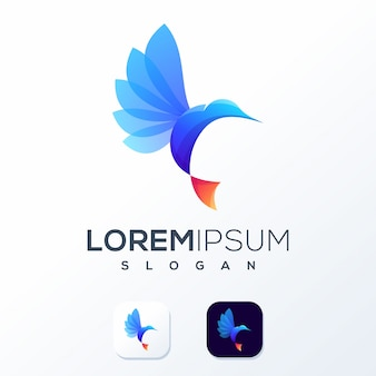 Abstract kleurrijk logo klaar voor gebruik