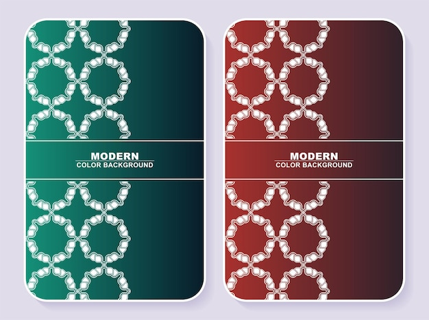 Abstract kleurrijk minimaal omslagenontwerp