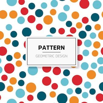 Abstract kleurrijk mozaïek. naadloos patroon