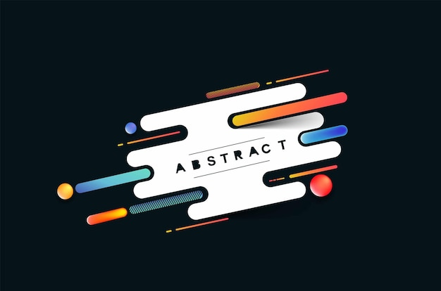 Abstract kleurrijk patroonontwerp en achtergrond. gebruik voor modern design, dekking, poster, sjabloon, brochure, ingericht, flyer, banner.