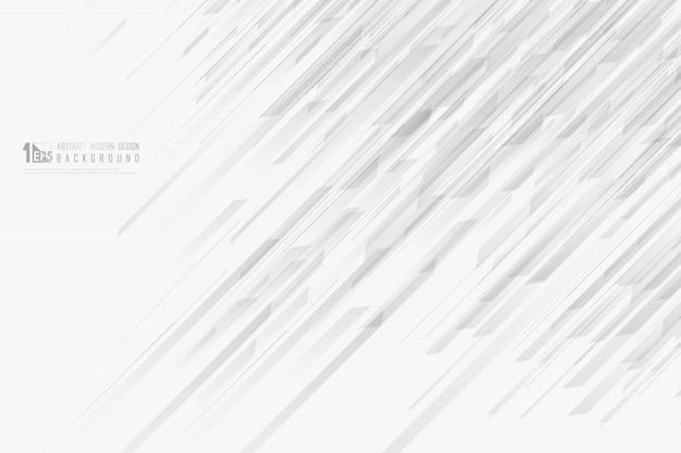 Abstract lijn grijs patroonontwerp van decoratieve ontwerpachtergrond.