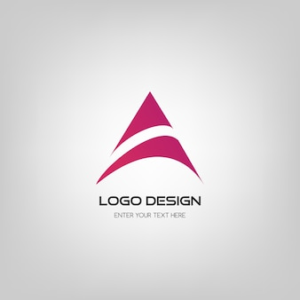 Abstract logo ontwerp.