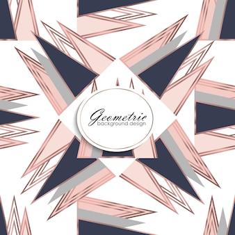 Abstract luxe geometrisch patroon. mode achtergrond
